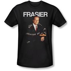 Cheers - Mens Frasier T-Shirt In Black