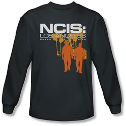 Ncis:La - Mens Slow Walk Long Sleeve Shirt In Charcoal