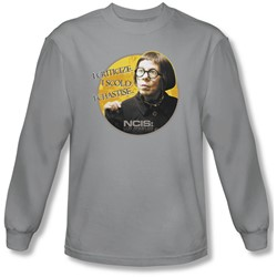 Ncis:La - Mens Hetty Long Sleeve Shirt In Silver