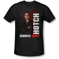 Criminal Minds - Mens Hotch T-Shirt In Black
