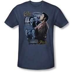 Elvis Presley - Mens Tupelo T-Shirt In Navy