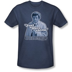 Columbo - Mens Just One More Thing T-Shirt In Navy