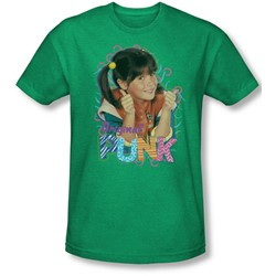 Punky Brewster - Mens Original Punk T-Shirt In Kelly Green