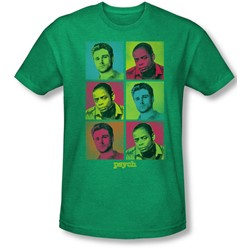 Psych - Mens Squared T-Shirt In Kelly Green
