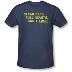 Friday Night Lights - Mens Clear Eyes T-Shirt In Navy
