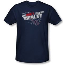 Airplane - Mens Dont Call Me Shirley T-Shirt In Navy