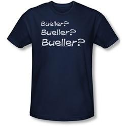 Ferris Buellers Day Off - Mens Bueller? T-Shirt In Navy