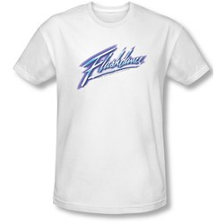 Flashdance - Mens Logo T-Shirt In White