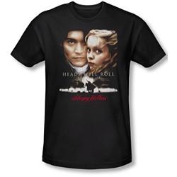 Sleepy Hollow - Mens Heads Will Roll T-Shirt In Black
