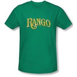 Rango - Mens Logo T-Shirt In Kelly Green