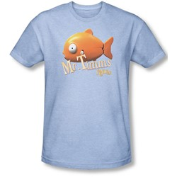 Rango - Mens Mr Timms T-Shirt In Light Blue