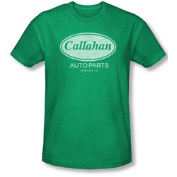 Tommy Boy - Mens Callahan Auto T-Shirt In Kelly Green