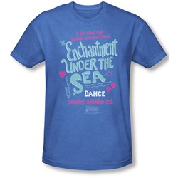 Back To The Future - Mens Under The Sea T-Shirt In Royal