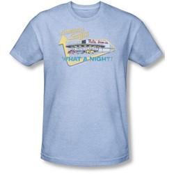 American Grafitti - Mens Mel'S Drive In T-Shirt In Light Blue