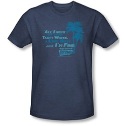 Fast Times Ridgemont High - Mens All I Need T-Shirt In Navy