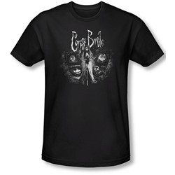Corpse Bride - Mens Bride To Be T-Shirt In Black