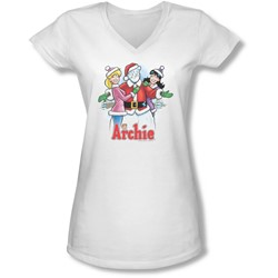 Archie Comics - Juniors Cover 223 V-Neck T-Shirt