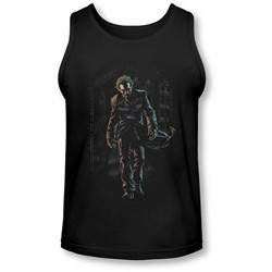Batman - Mens Joker Leaves Arkham Tank-Top
