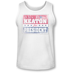 Family Ties - Mens Alex For President Tank-Top