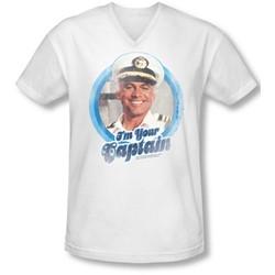Love Boat - Mens I'M Your Captain V-Neck T-Shirt