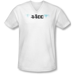 4400 - Mens The 4400 Logo V-Neck T-Shirt
