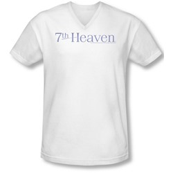 7Th Heaven - Mens 7Th Heaven Logo V-Neck T-Shirt