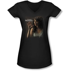 Ghost Whisperer - Juniors Ethereal V-Neck T-Shirt