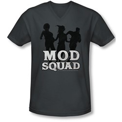 Mod Squad - Mens Mod Squad Run Simple V-Neck T-Shirt