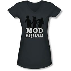 Mod Squad - Juniors Mod Squad Run Simple V-Neck T-Shirt