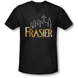 Frasier - Mens Frasier Logo V-Neck T-Shirt