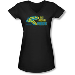 Quogs - Juniors Just A Phase V-Neck T-Shirt