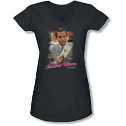 Ncis - Juniors Ladies Man V-Neck T-Shirt