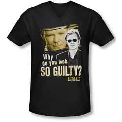 Csi Miami - Mens So Guilty V-Neck T-Shirt