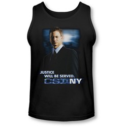 Csi:Ny - Mens Justice Served Tank-Top