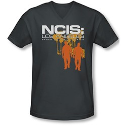 Ncis:La - Mens Slow Walk V-Neck T-Shirt