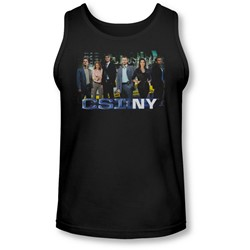 Csi Ny - Mens Cast Tank-Top