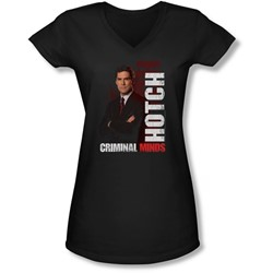 Criminal Minds - Juniors Hotch V-Neck T-Shirt