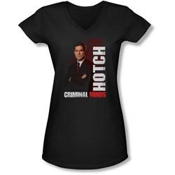 Criminal Minds - Juniors Hotch V-Neck T-Shirt