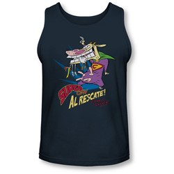 Cow & Chicken - Mens Super Cow Tank-Top