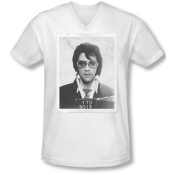 Elvis - Mens Framed V-Neck T-Shirt