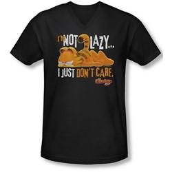 Garfield - Mens Not Lazy V-Neck T-Shirt