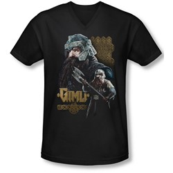 Lor - Mens Gimli V-Neck T-Shirt