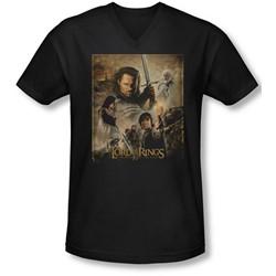Lor - Mens Rotk Poster V-Neck T-Shirt