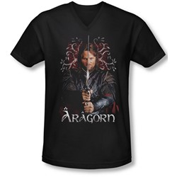 Lor - Mens Aragorn V-Neck T-Shirt