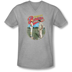 Bad News Bears - Mens Vintage V-Neck T-Shirt