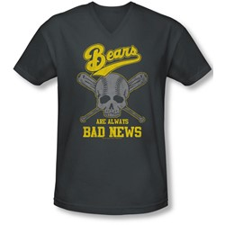 Bad News Bears - Mens Always Bad News V-Neck T-Shirt