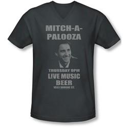 Old School - Mens Mitchapalooza V-Neck T-Shirt