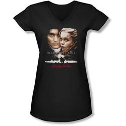 Sleepy Hollow - Juniors Heads Will Roll V-Neck T-Shirt