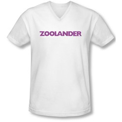 Zoolander - Mens Logo V-Neck T-Shirt