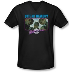 Galaxy Quest - Mens Cute But Deadly V-Neck T-Shirt